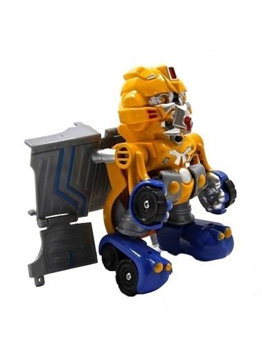 Vardem Dönüşebilen Mini Robot Kamyon Sarı